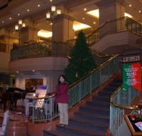 ホテルピアノ ロビー階段