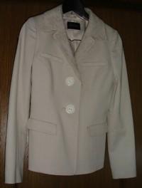 フランスレース襟付きジャケット