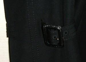 コートの袖口