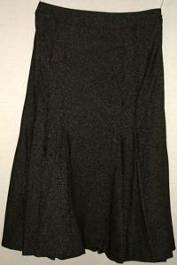 インゲボルグ ライトシネひざ下丈スカート(茶系)