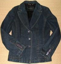 ファーを取った状態のジャケット