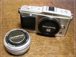 OLYMPUS E-P1シルバー