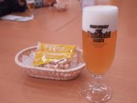 ビール工場での試飲