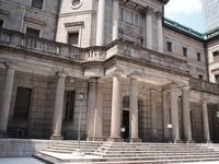 日本銀行中庭