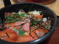 昼食・紅鱒のちらし寿司