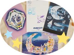 日本SF展ポストカード