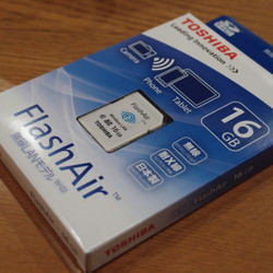 TOSHIBA Flash Air 16GB