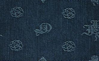 モノグラム(紺)