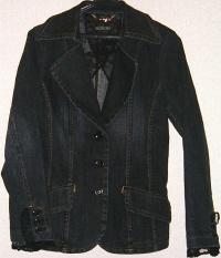デニムジャケット(黒)