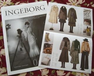 インゲボルグ2006年冬物カタログ