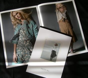 インゲボルグ2007年春物カタログと2007年カレンダー