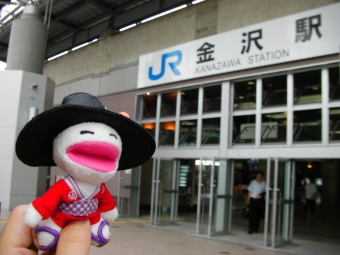 ヴィンちゃんin金沢駅前