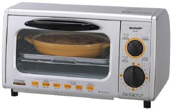 オーブントースター(シャープKZ-P27-S)