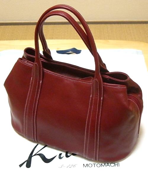 キタムラハンドバッグ(赤)